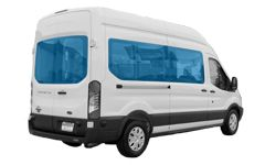 Tempered glass for foreign minibuses