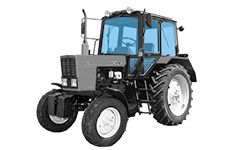 Glass for agricultural machinery